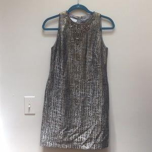 Maggy London Metallic Party Dress